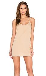 Мини платье с двойными шлейками - BLQ BASIQ