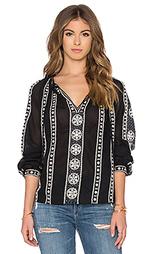 Блуза с вышивкой - Maison Scotch
