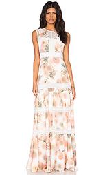 Вечернее платье pink peony - Needle & Thread
