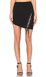 Мини юбка с кружевами спереди - Mason by Michelle Mason