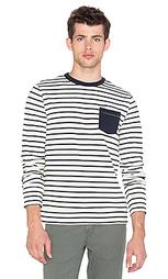 Полосатая футболка с длинным рукавом - Altru