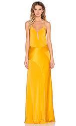 Вечернее платье с v-образным вырезом - Mason by Michelle Mason