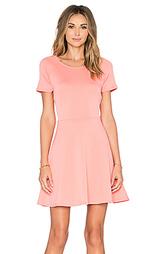 Платье солнцеклёш с коротким рукавом - Eight Sixty