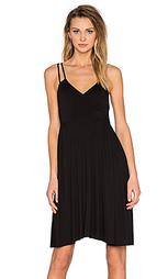 Платье с запахом асимметричный подол - LA Made