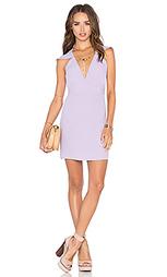Обтягивающее платье flutter sleeve romance - NBD