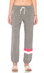 Спортивные брюки placed stripe - SUNDRY