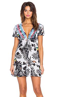 Мини платье toucans - Shoshanna