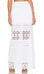 Кружевная юбка макси diamond - Nightcap