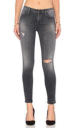 Супер узкие джинсы средней посадки jude - Black Orchid