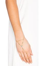 Цепочка на руку с вкраплённой жемчужиной - Rebecca Minkoff