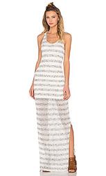 Макси-платье в полоску - Bella Luxx