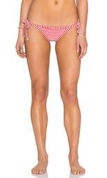 Бразильские плавки бикини с завязками по бокам riviera stripe - Seafolly
