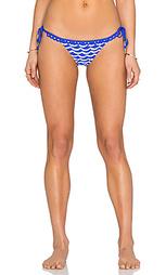 Бразильские плавки бикини с завязками по бокам tidal wave - Seafolly