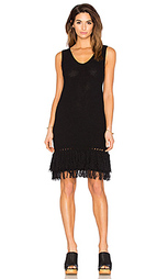 Мини платье с бахромой - LEO & SAGE