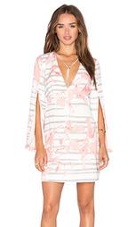 Мини платье slit - Halston Heritage