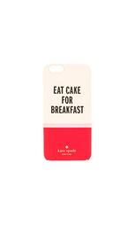 Чехол на iphone 6 eat cake for breakfast - kate spade new york