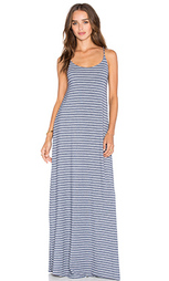 Макси-платье с глубоким вырезом на спине - Bella Luxx
