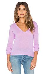 Укороченный свитер с v-образным вырезом elle - 27 miles malibu