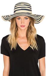 Полосатая шляпа с мягкими полями - Michael Stars