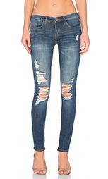 Рваные узкие джинсы - BLANKNYC