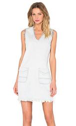 Рваное платье с v-образным вырезом - BLANKNYC