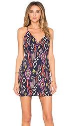Платье с перекрестными шлейками сзади liza - MISA Los Angeles