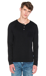 Пуловер с сеточной отделкой grandad - Scotch & Soda