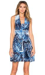 Платье с перекрестными шлейками сзади elisa - MILLY