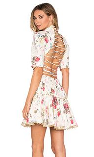 Платье mischief corset laced - Zimmermann