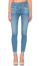 Укороченные облегающие джинсы farrah - AG Adriano Goldschmied