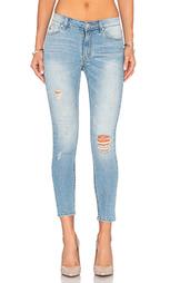 Узкие укороченные джинсы kitty - RES Denim