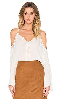 Крестьянская блуза с открытыми плечами - Bishop + Young