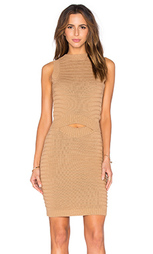 Миди-платье с вырезом - Callahan