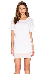 Платье рубашка с двойным ярусом - MONROW