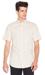 Рубашка с полосатыми вставками на длинных рукавах - I Love Ugly