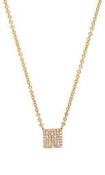 Ожерелье pave square - Sachi