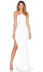 Вечернее платье с сеточной вставкой lifeson - Jay Godfrey