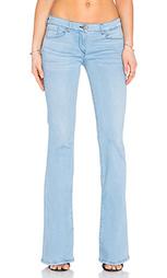 Расклёшенные от колена джинсы низкой посадки - 3x1