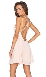Мини платье с перекрестными шлейками сзади - krisa