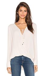Длинная блуза с запахом - WAYF