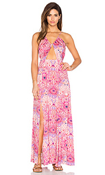 Макси платье с вырезом paisley heat - Somedays Lovin
