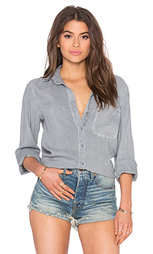 Рубашка на пуговицах с запахом сзади - Bella Dahl