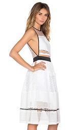 Платье из комбинированных кружев - KENDALL + KYLIE