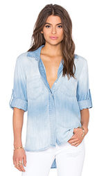 Рубашка на пуговицах с разрезом сзади - Bella Dahl