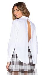 Рубашка с застёжкой на пуговицу и открытой спиной - KENDALL + KYLIE