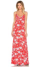 Макси платье с цветочным принтом - Yerse