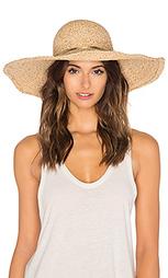 Широкополая шляпа из рафии с металликом - Hat Attack