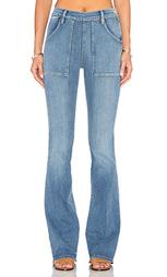 Расклешенные джинсы le flare de francoise - FRAME Denim