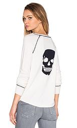 Свитер с графикой череп eurus - 360 Sweater