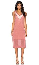 Миди платье с v-образным вырезом - LEO & SAGE